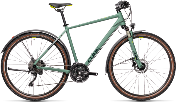 Cube Nature EXC Allroad green«n«bluegreen
