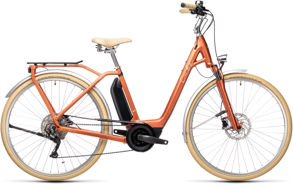 Cube Ella Ride Hybrid 500 red´n´grey
