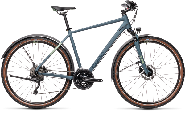 Cube Nature Pro Allroad blue«n«green