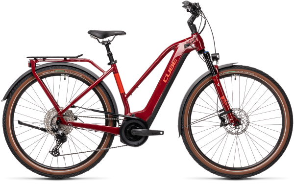 Cube Touring Hybrid EXC 625 red«n«grey