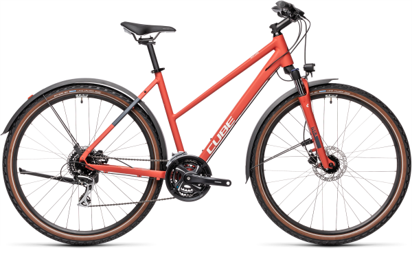 Cube Nature Allroad red«n«grey