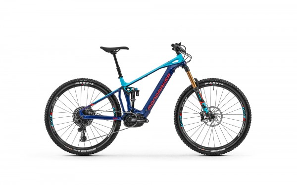 Mondraker 2020 Crafty RR 29 Deep Blue - Light Blue - Flame Red
